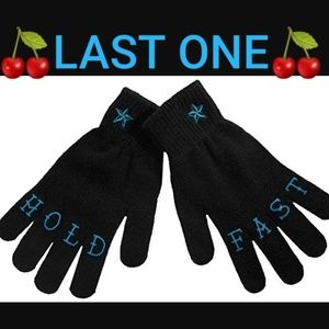Sourpuss Hold Fast Knuckles Winter Gloves  w Stars
